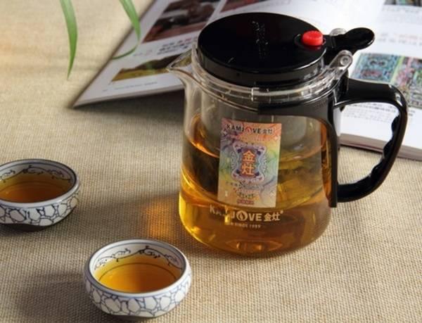 Чайник для заварки с автоматическим сливом