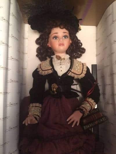Фарфоровая кукла с eBay как отличный подарок