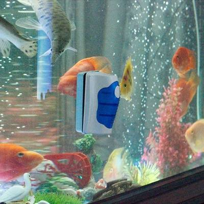 Магнитный очиститель аквариумов