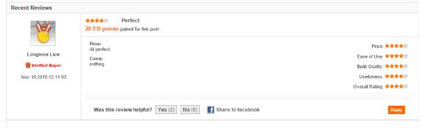 Отзывы других покупателей на EverBuying.net
