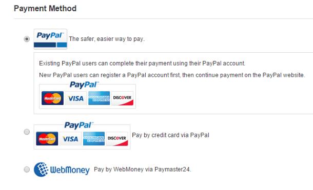 Как покупать на GearBest.com - доступные варианты оплаты