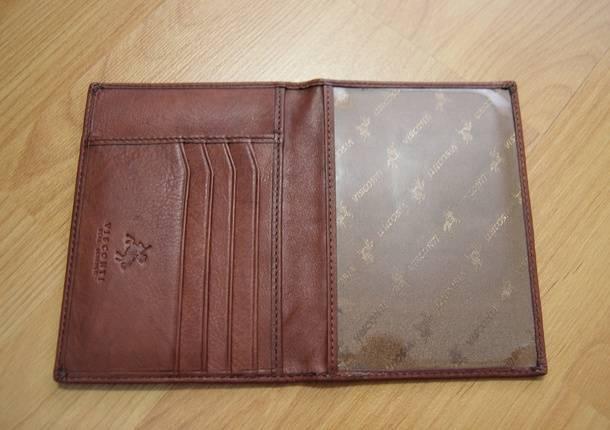 Внутренние отделы обложки для паспорта с британского Amazon.co.uk
