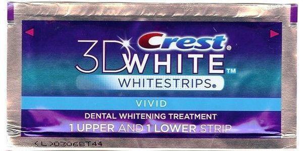 Полоски для отбеливания зубов Crest