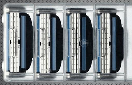 Недорогие китайские аналоги сменных лезвий к бритвам Gillette