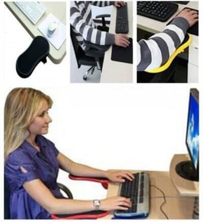 Подставка под руку для работы за компьютером