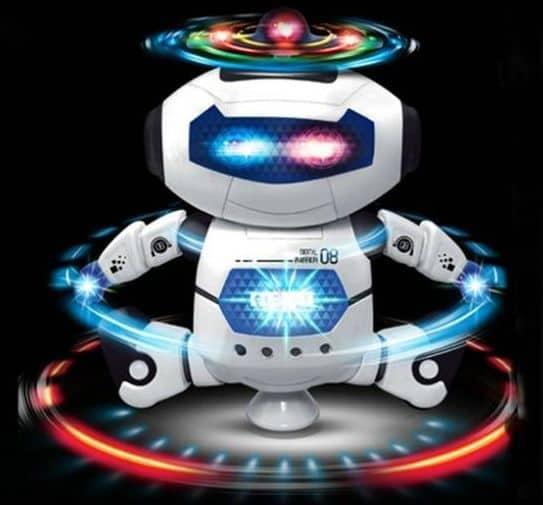 Танцующая игрушка-робот с DD4