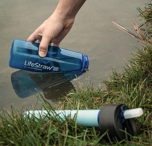 Бутылка для очистки и переноски воды LifeStraw