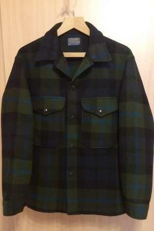Винтажная куртка лесоруба Pandleton с eBay