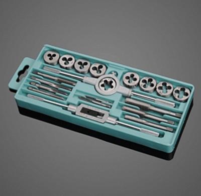 Набор слесарных инструментов для нарезки резьбы