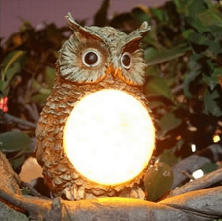 Светильник в форме совы