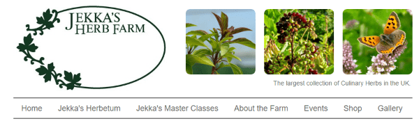 Интернет-магазин эко-семян Jekka's Herb Farm