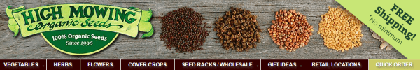 Интернет-магазин эко-семян High Mowing Seeds
