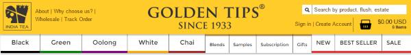 Индийский магазин чая GoldenTipsTea.com