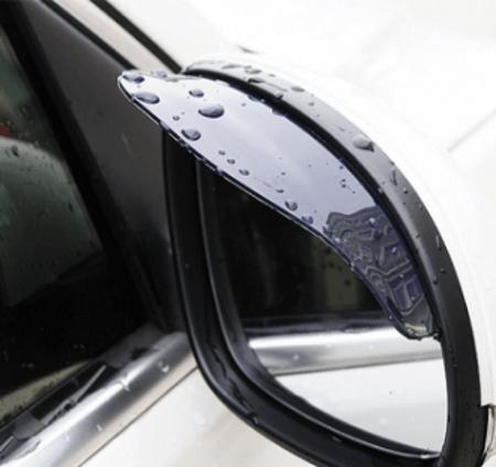 Пластиковый козырёк для защиты зеркал заднего вида от капель дождя