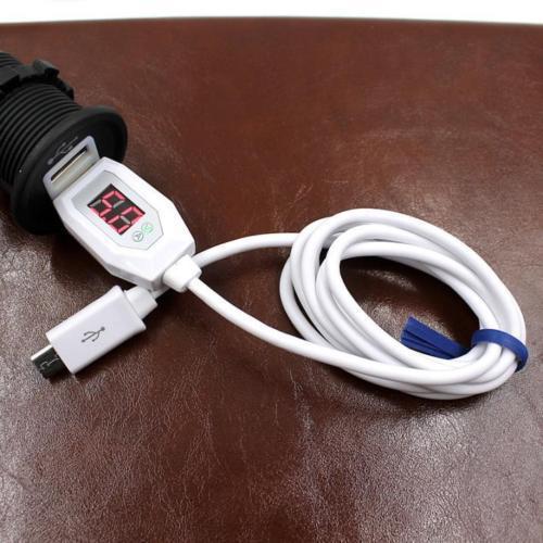 Зарядный USB-кабель с индикатором напряжения и силы тока
