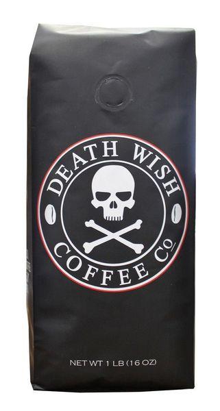Очень крепкий кофе Death Wish