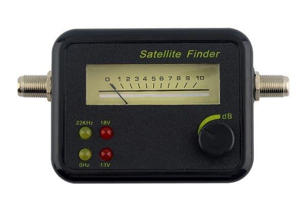Прибор для определения уровня спутникового сигнала