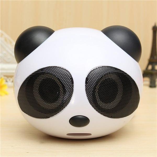Проводная колонка-панда с DD4