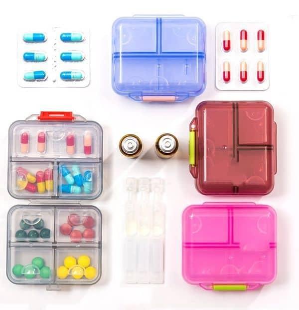 Недорогие органайзеры для таблеток с ChinaBuye