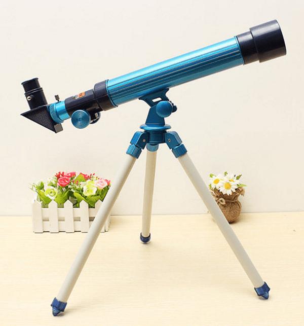 Любительский телескоп для наблюдения за Луной