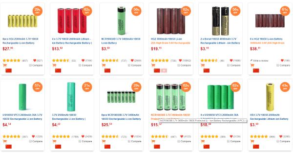 Большой тест аккумуляторов из китайских интернет-магазинов