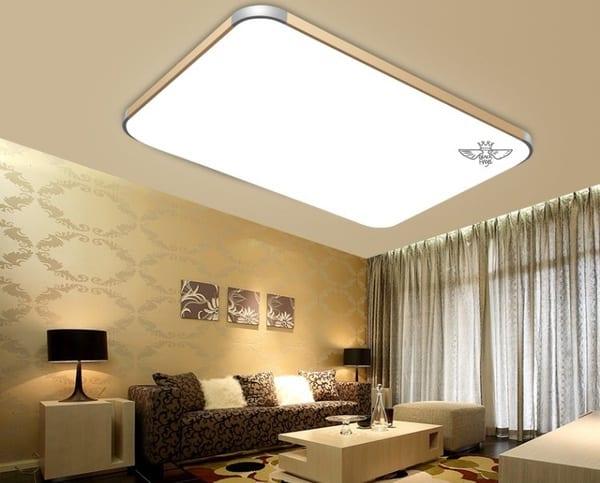 Светодиодная панель-люстра, купленная на Aliexpress