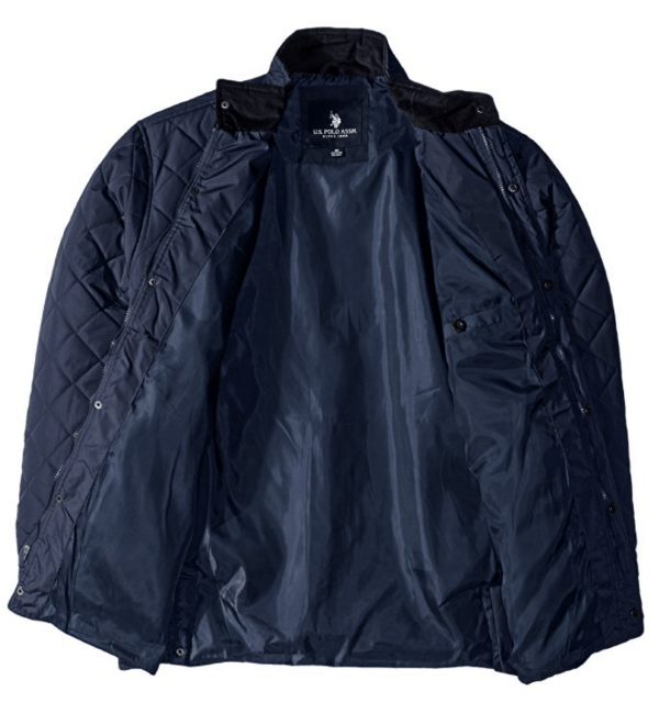 Тёплая мужская куртка U.S. Polo Assn, купленная на Amazon