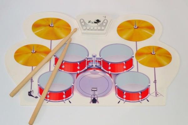 Барабанный коврик-симулятор