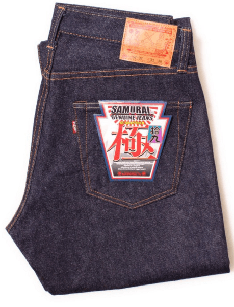 Легендарные японские джинсы Samurai, купленные на Denimio