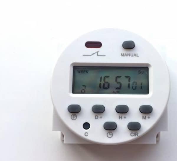 Таймер для управления электропитанием, купленный на Aliexpress