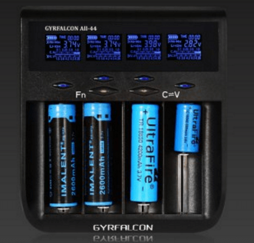 Зарядное устройство для аккумуляторов Gyrfalcon ALL-44