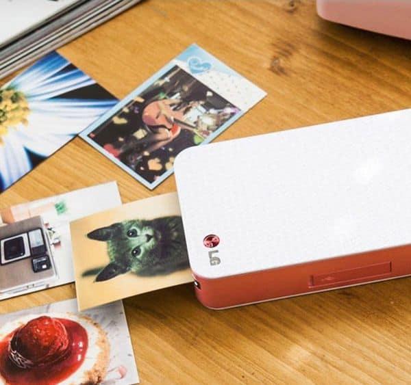 Компактный фотопринтер LG, купленный на eBay