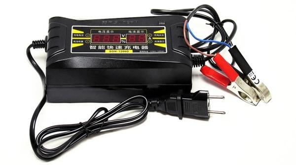 Зарядное устройство для аккумуляторов авто, купленное на BangGood
