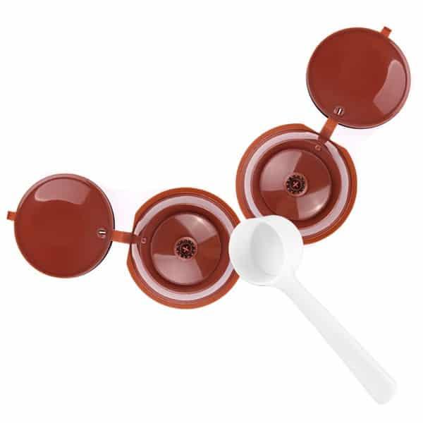Кофейные капсулы многоразового использования для кофемашины Dolce Gusto