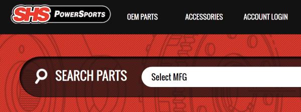 Покупка запчастей к мотоциклам на Shsmotorsports.com