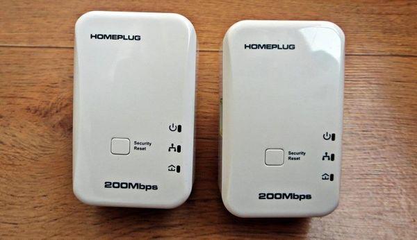 Набор адаптеров для создания локальной сети по электропроводке