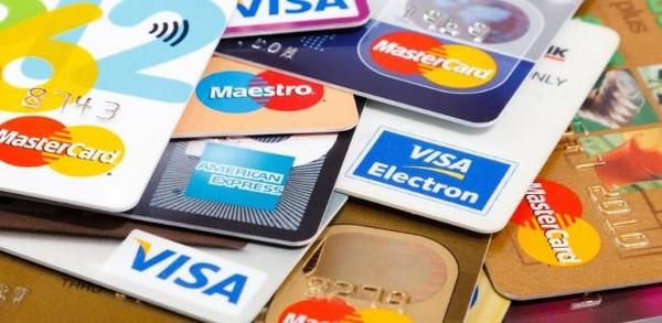 Банковские карты различных платёжных систем