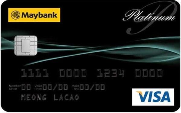 Премиальная банковская карта VISA Platinum