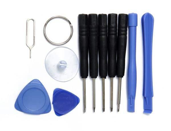 Базовый набор инструментов для домашнего ремонта смартфонов