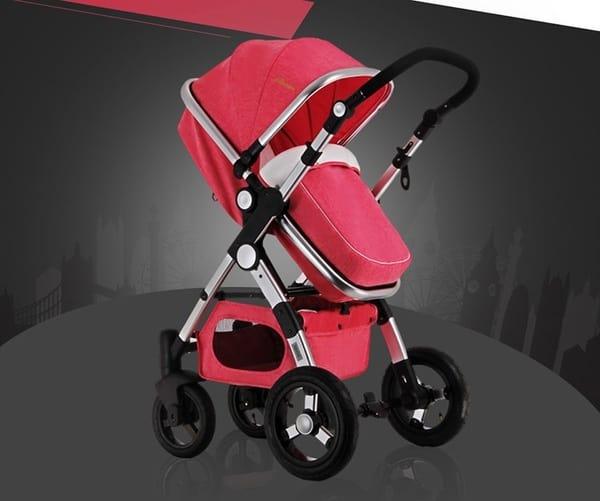 Недорогая детская коляска с Aliexpress