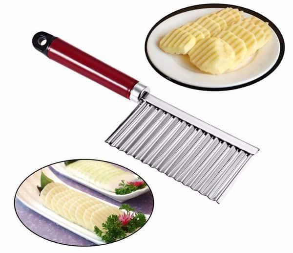 Нож для фигурной нарезки картофеля с Aliexpress