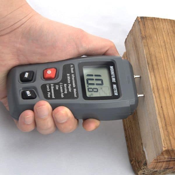 Измеритель влажности древесины с TomTop