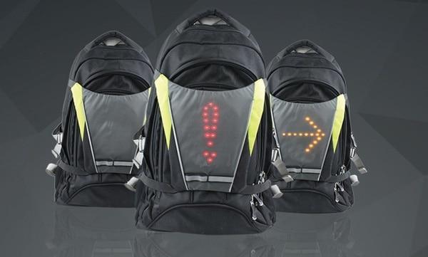 Светоотражающий веложилет с LED-поворотниками