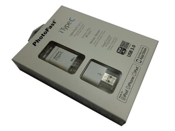 Универсальная флешка PhotoFast iType-C для мобильных гаджетов и ПК