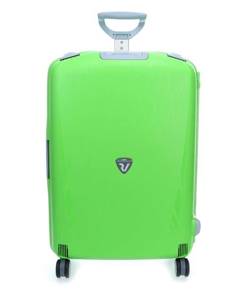 Зелёный дорожный чемодан, купленный в немецком Wardow
