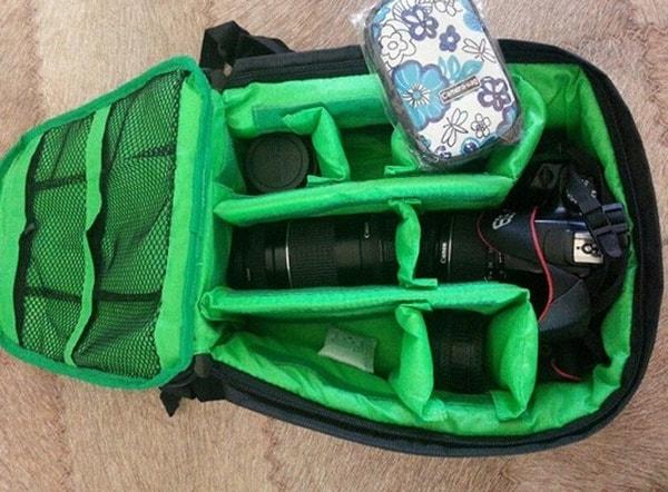 Рюкзачок для фототехники с Aliexpress