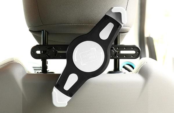 Адаптер для крепления планшета к спинке автокресла