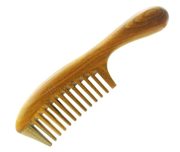 Сверхпрочная деревянная расчёска с Aliexpress