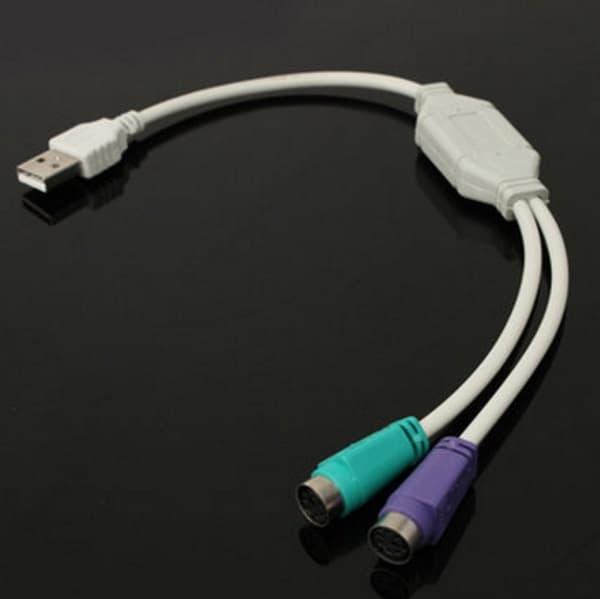 Переходник с USB на PS/2 для старых устройств ввода