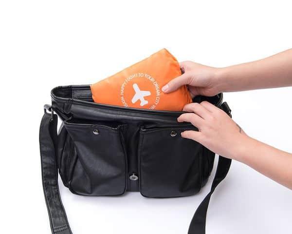 Сумка-раскладушка для путешествий, купленная на Aliexpress